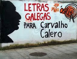 Letras galegas para Carvalho Calero