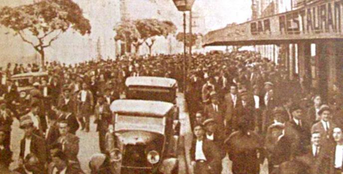 Folga xeral Ourense 1931