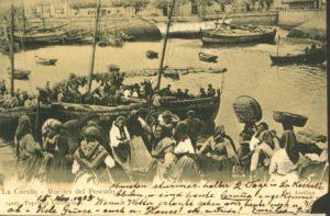 Fotografía do arquivo municipal da Coruña