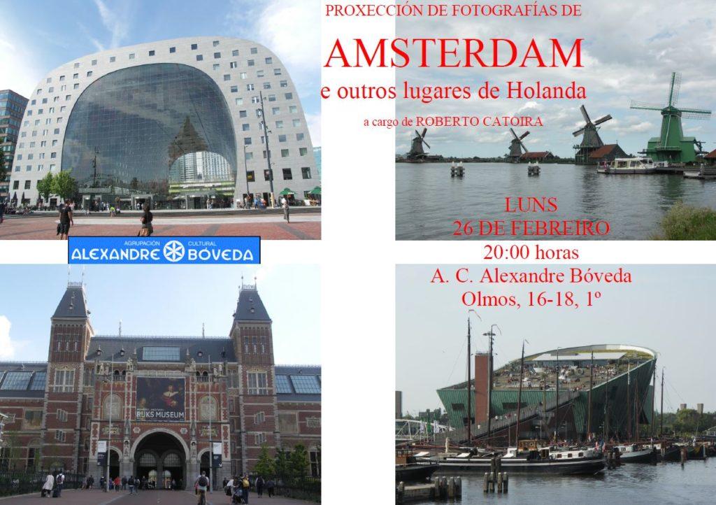 Fotografías de Roberto Catoira sobre Amsterdam