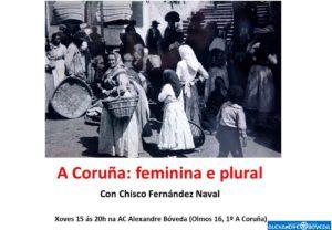 A Coruña feminina e plural