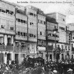 Enterro de Curros Enríquez.