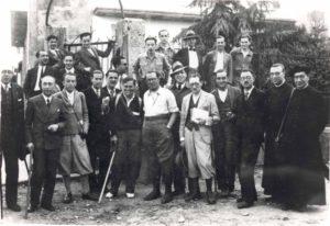 Membros do Seminario de Estudos Galegos