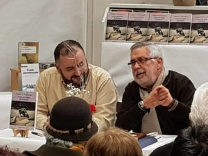 Xabier P. DoCampo con Martin Pawly
