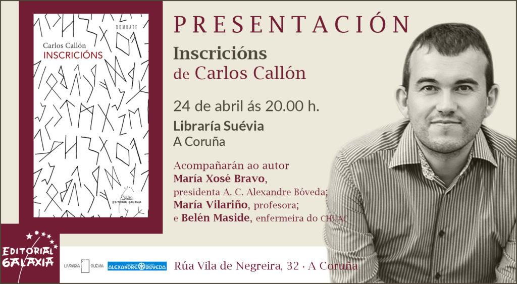 Inscricións - Carlos Callón