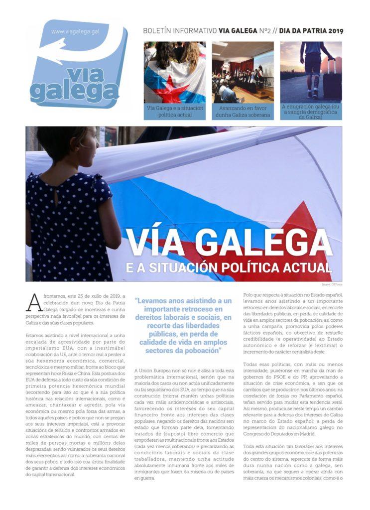 Boletín Vía Galega