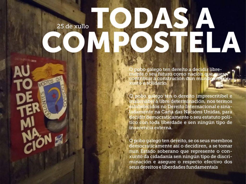 Vía galega Día da Patria