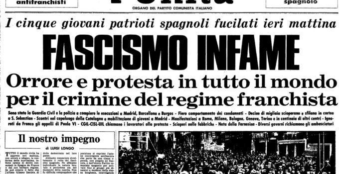 Execucións franquistas na prensa internacional